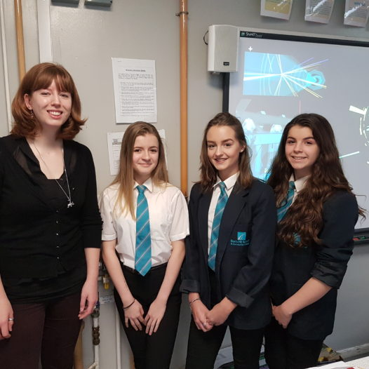 Former Barr's Hill Student Inspires Year 10 Triple Scientists
