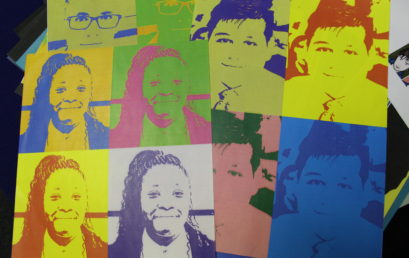 Pop Art by Year 8 Students