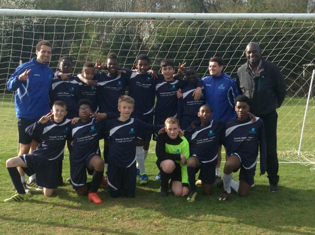 Y8 Semi Final Victory team photo