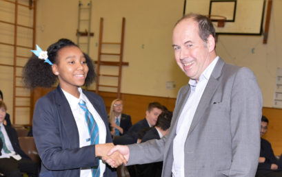 The BBC's Rory Cellan-Jones Visits Barr's Hill!