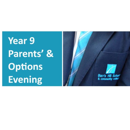 Year 9 Parents/Options Evening