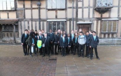 YEAR 7 VISIT THE ROYAL SHAKESPEARE COMPANY
