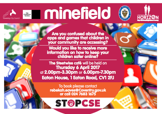 Keep Children Safe Online at The Streetwise Cafe