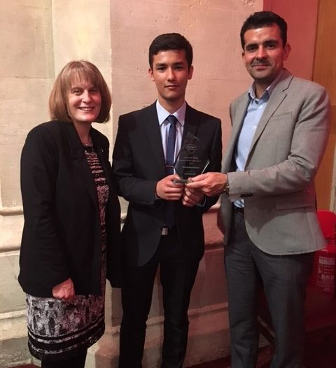 YEAR 13 STUDENT ATTENDS CAREER READY AWARDS DINNER