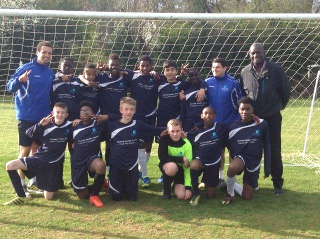 YEAR 8 BOYS FOOTBALL TEAM REACH THE COVENTRY SCHOOLS CUP FINAL