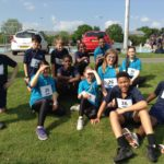 Year 7 students attend a city wide Athletics competition