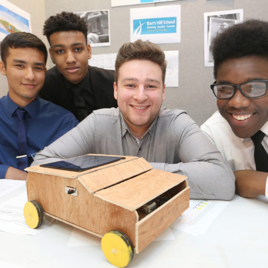 Year 12 students show their skills by completing engineering project