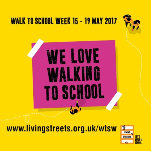 WALK TO SCHOOL WEEK 15-19 MAY