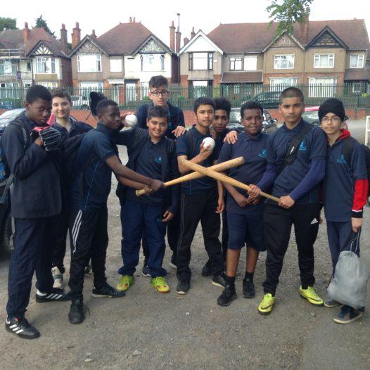 Year 9 Boys take part in Softball Tournament