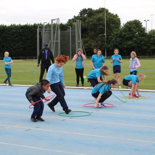 Sports Day – Warwick Athletics Track