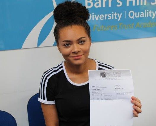 Barr's Hill students celebrate successful results!