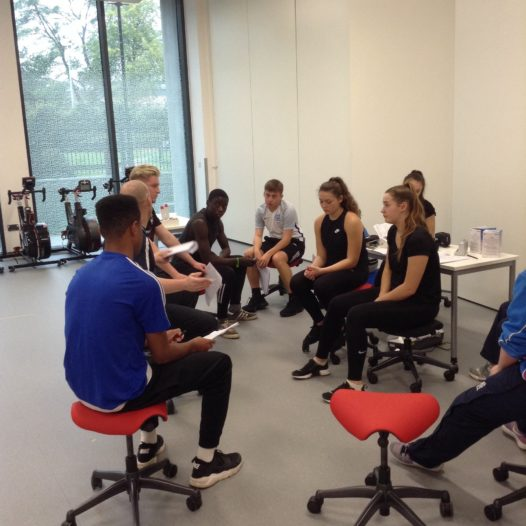 BTEC Sport Level 3 students attend sports workshop at Coventry University