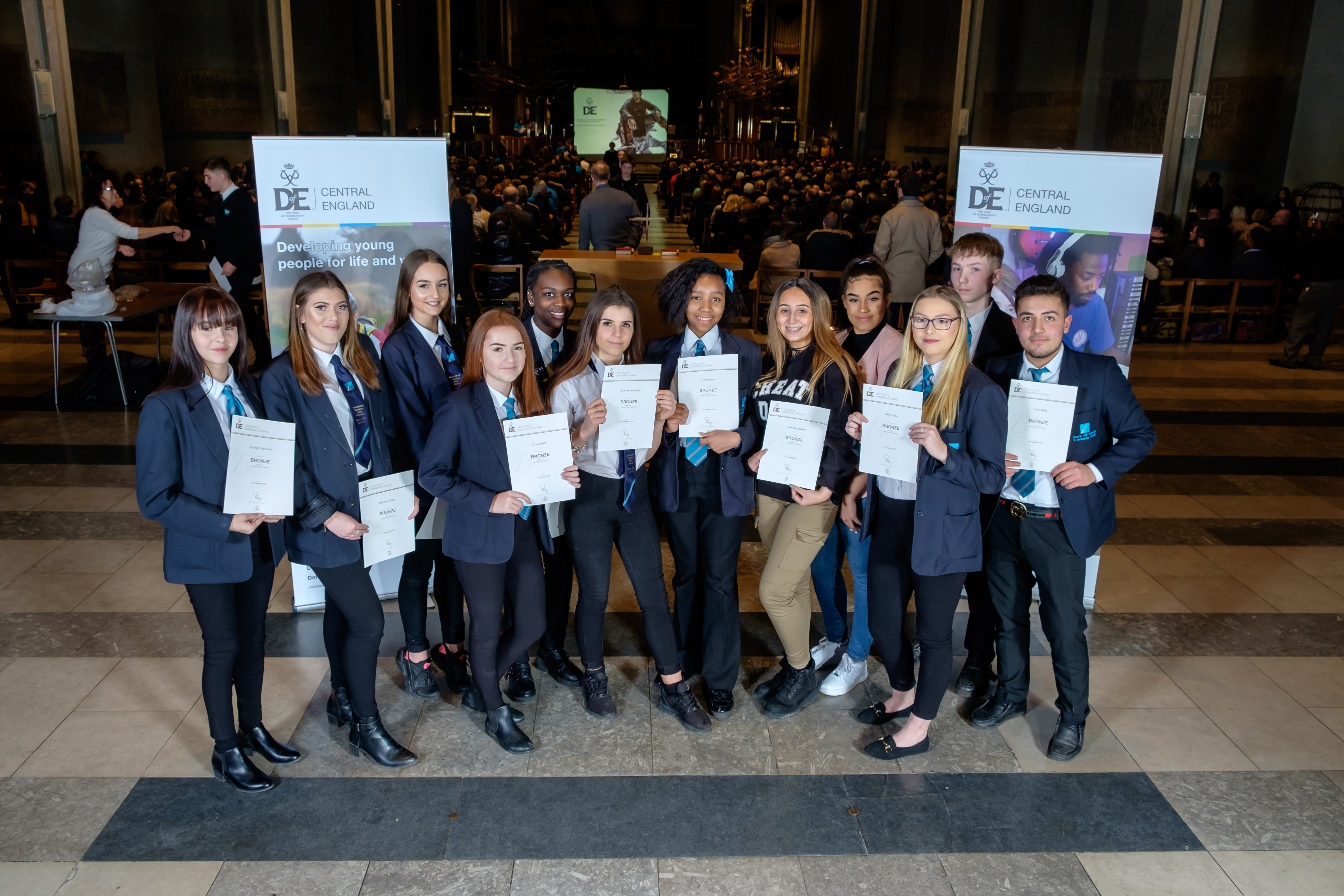 Students awarded bronze at The Duke of Edinburgh Awards