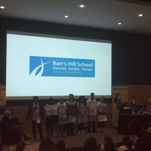 Students attend and perform at the PeaceJam UK Conference