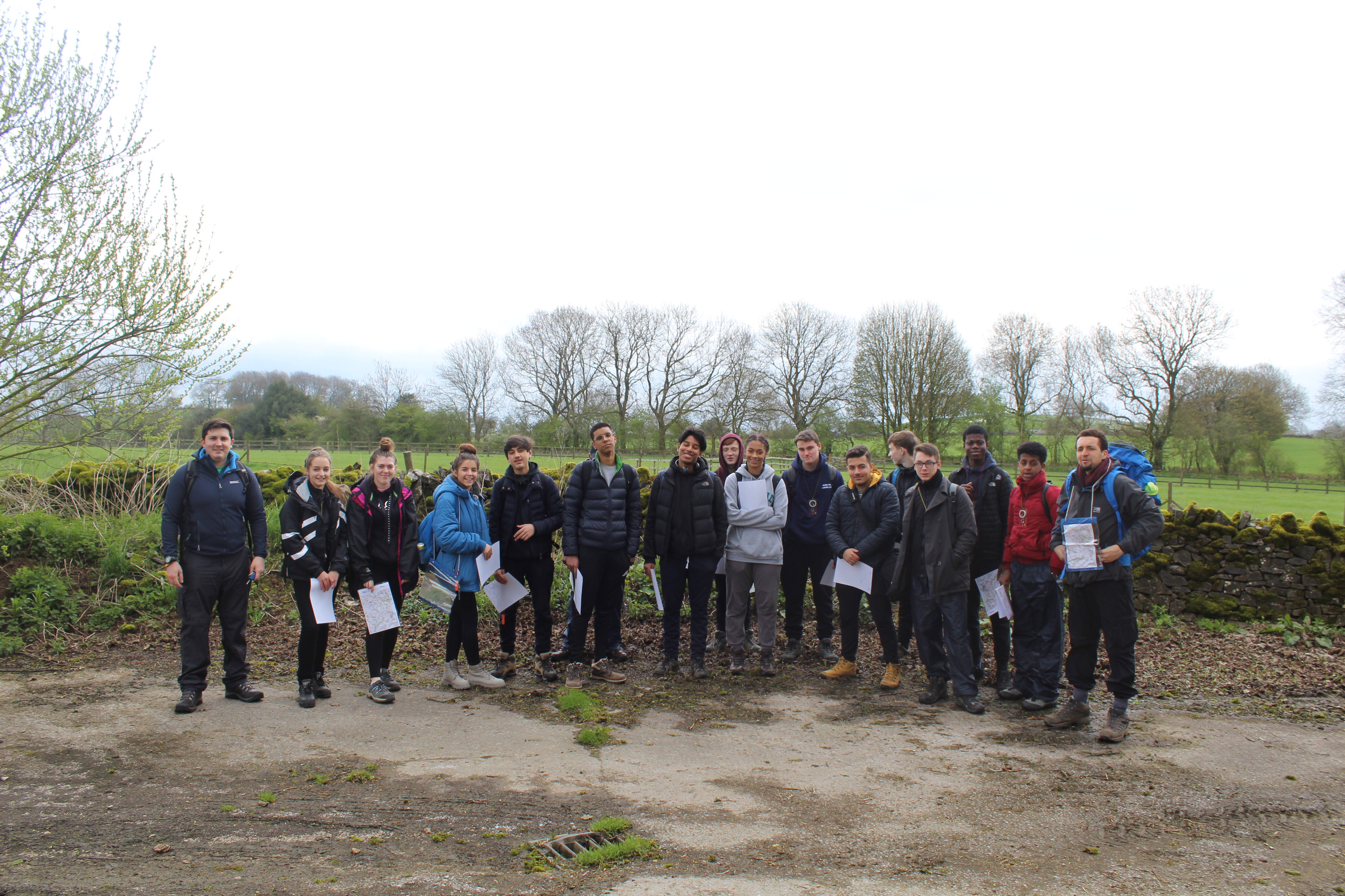 Students visit the Peak District – Silver Duke of Edinburgh