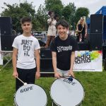 Students perform at Coventry's Party in the Park