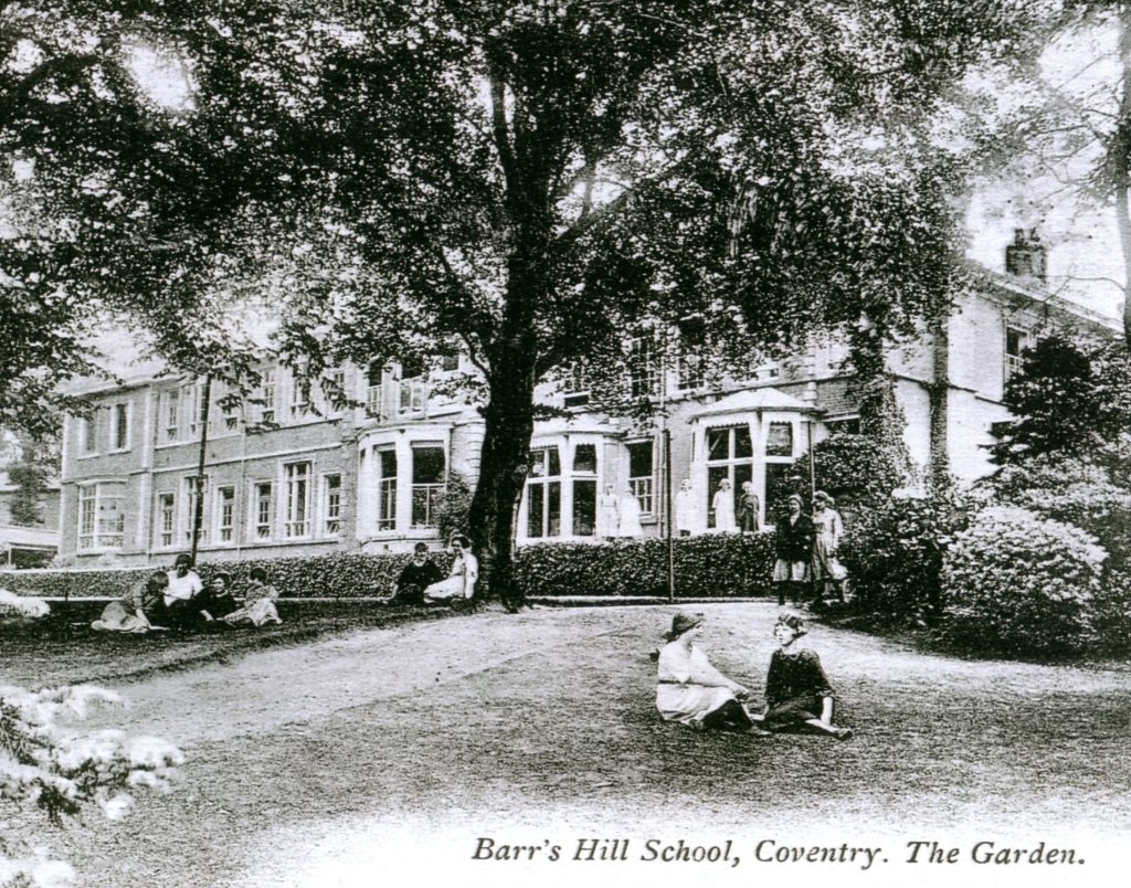 Barr's Hill School Coventry The Garden
