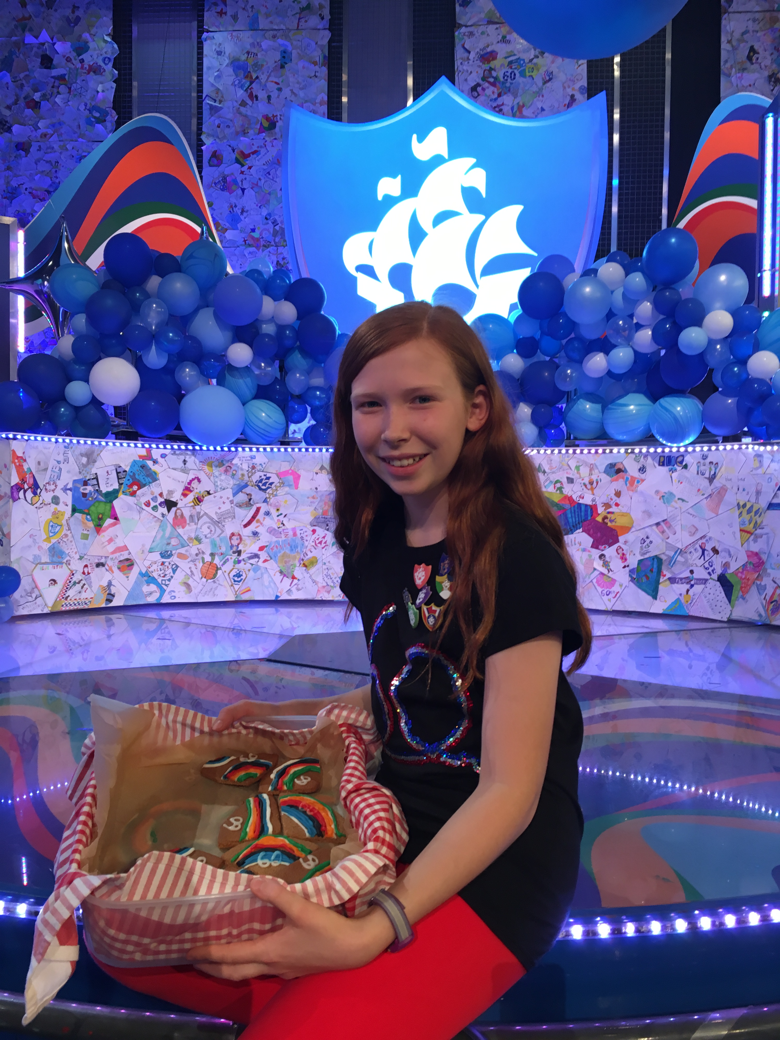 WINNER: YEAR 7 STUDENT STARS ON BLUE PETER!