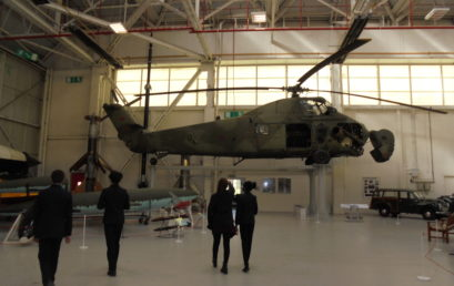 Students visit Institute of Physics at RAF Cosford Museum