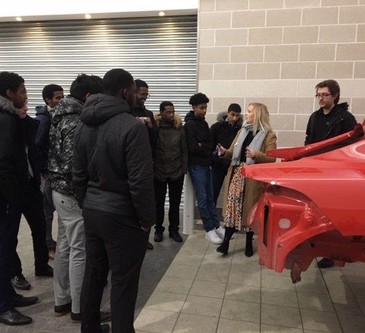 Post-16 Select Students visit JLR's Education Partnership