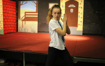WINTER PRODUCTION REHEARSALS