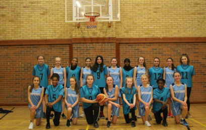 Girls Basketball win 38-36 against Twycross House School!