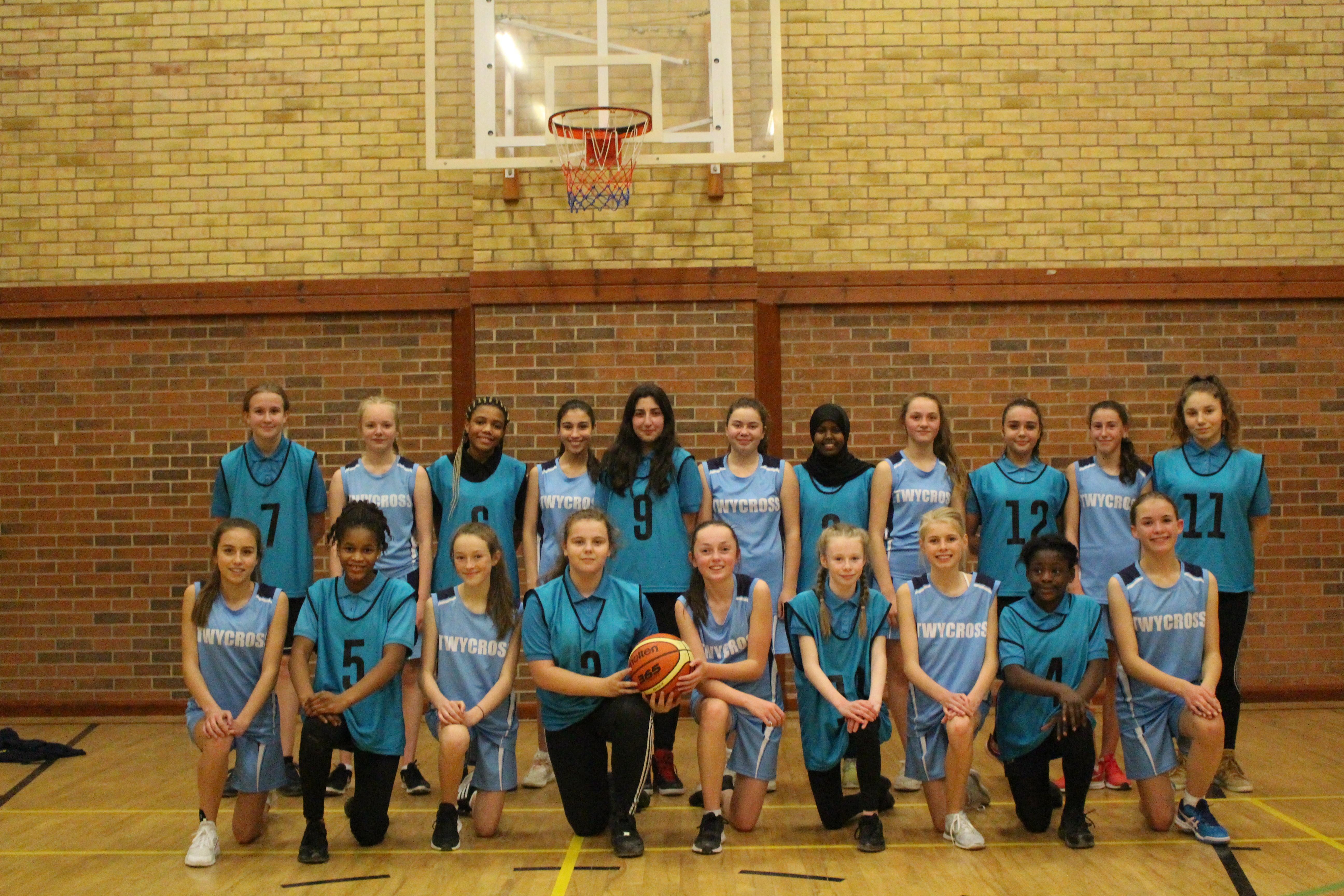 Girls Basketball win 38-36 against Twycross House School!