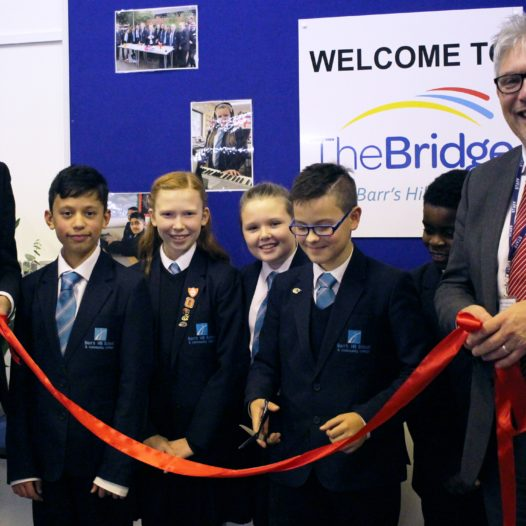 Celebrations: The official opening of 'The Bridge'