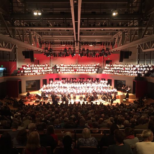 The Bridge Choir perform at the Warwick Arts Centre