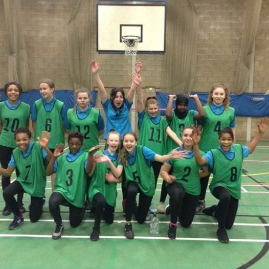 KS3 Girls Basketball team beat Coundon Court 18-6
