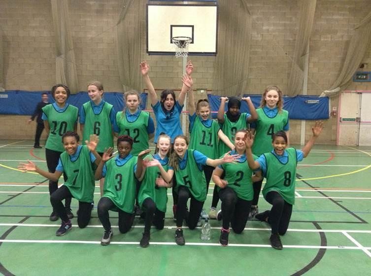 KS3 Girls Basketball team beat Coundon Court 18-6