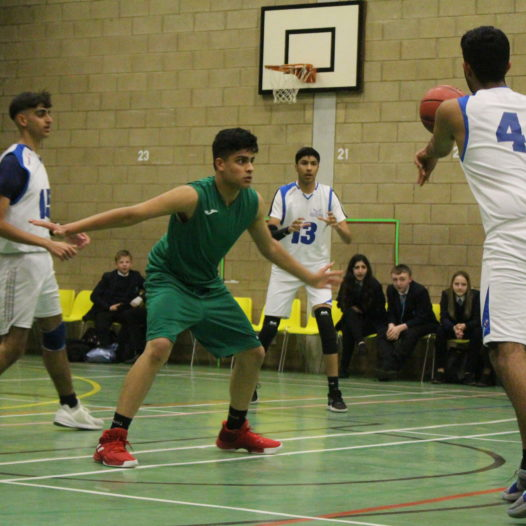 Hosting the Coventry Schools Basketball League – U16 Boys Final