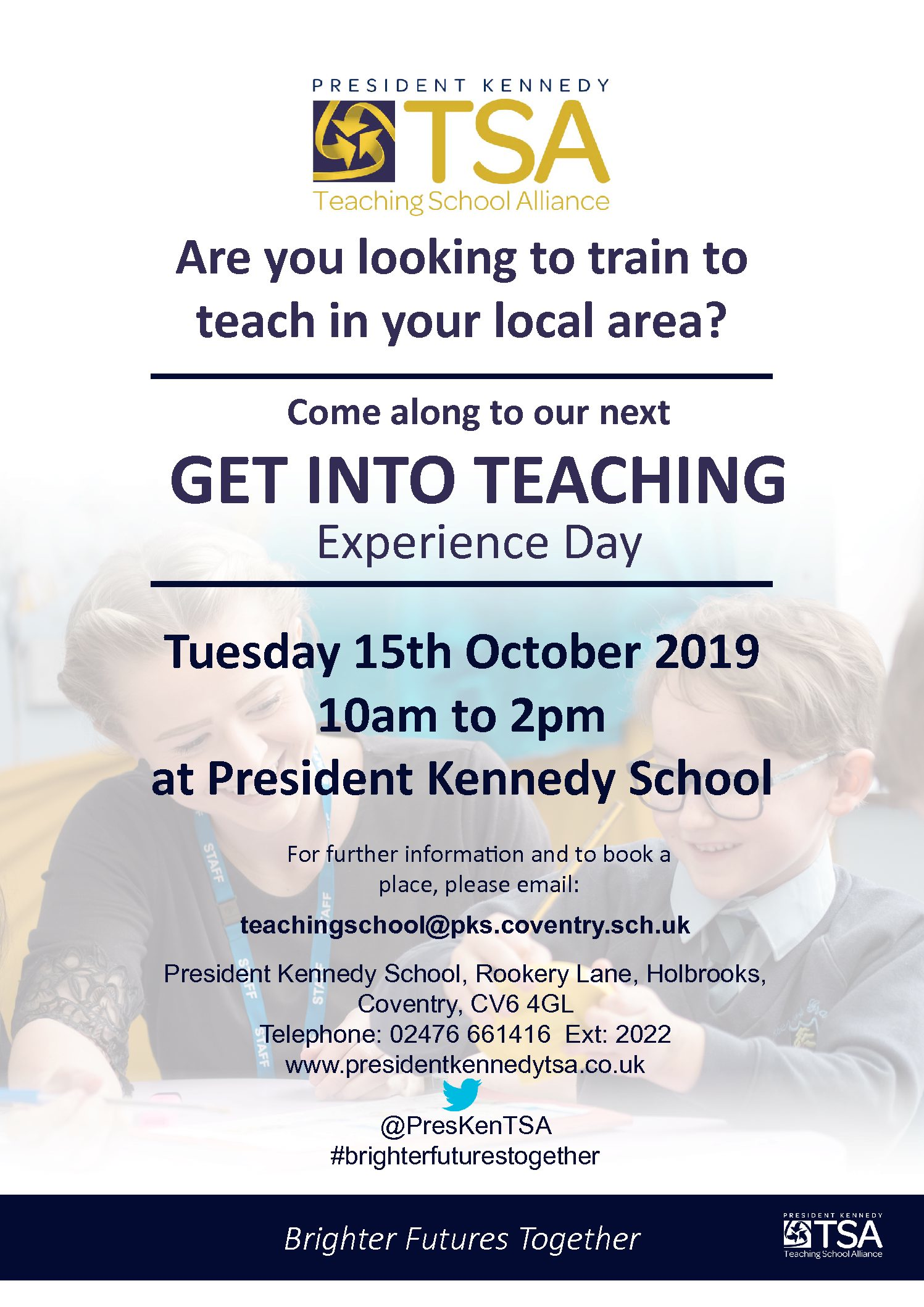 Get Into Teaching Experience Day